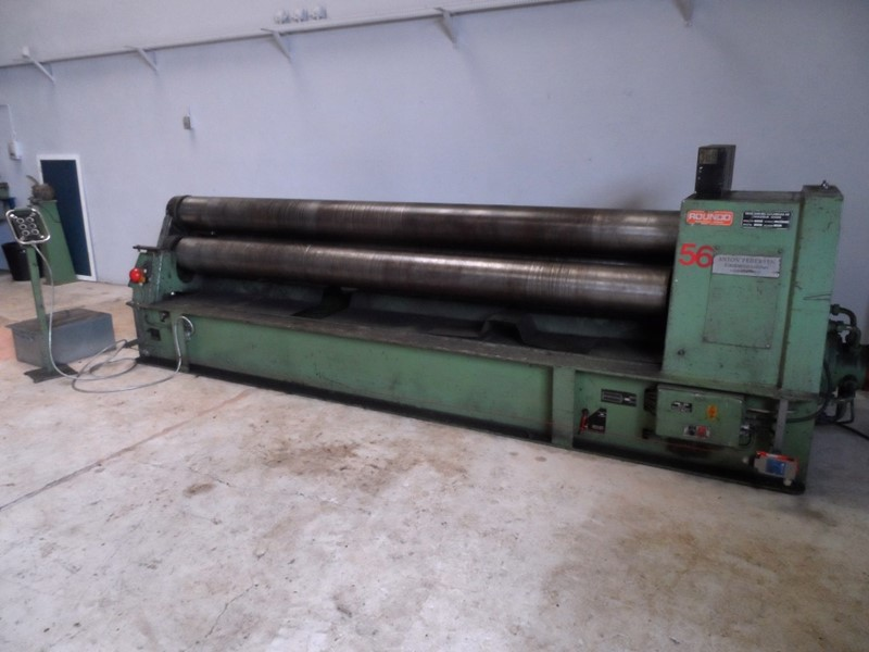 Bending Rolls - Plate ROUNDO PS 255 for sale - IndustrialMachines.net