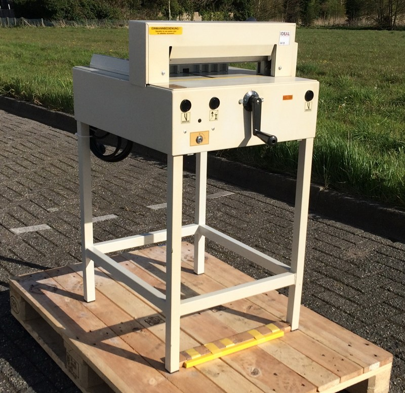 Guillotines Ideal 3610 For Sale Industrialmachines Net