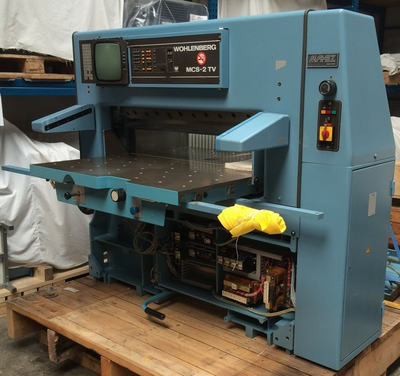 Guillotines Wohlenberg 115 Mcs 2tv For Sale