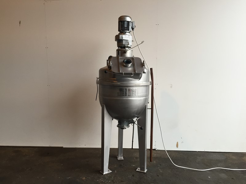 Cooking Vessels Bch Jacketed Pressure Cooking Vessel For