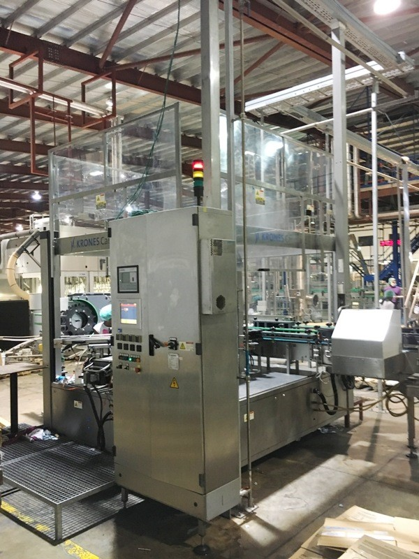 Wrap-around Labeling Machine - Krones Canmatic 960-28 52.800 bph