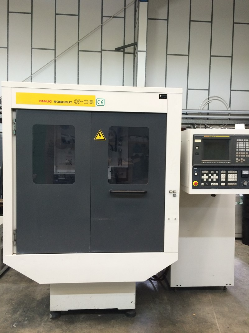 Edm Wire Erosion Fanuc Alpha Ob For Sale