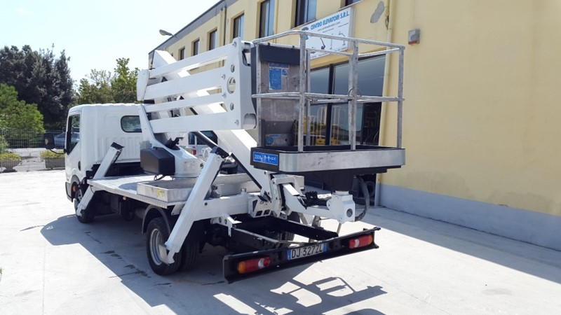 Truck Mounted CTE Zed 20E for sale - IndustrialMachines.net
