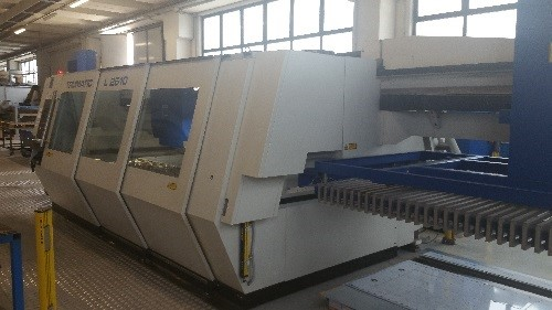 Laser Flat Bed Trumpf Tcl 2510 For Sale