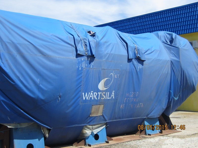 Natural Gas Power Plant - NEVER INSTALLED Wartsila 2 x 20V34 SG