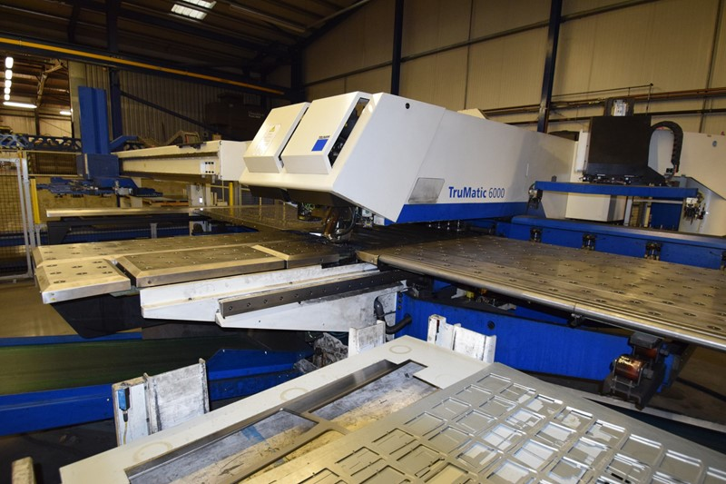 Laser Punch - Combination TRUMPF 6000L 1600 FMC for sale ...