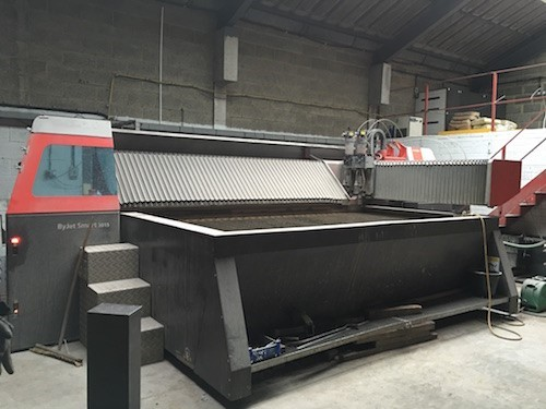 The latest machine from Stone/Mineral Processing