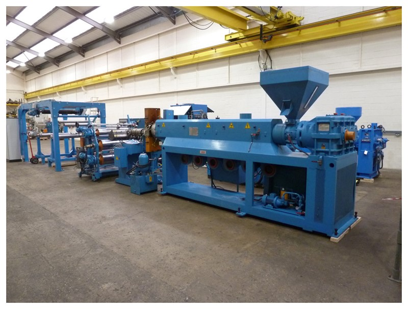 Union - 1000mm wide Union sheet extrusion line