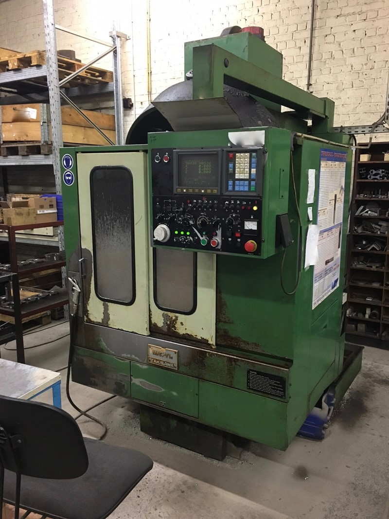 Machining centre vertical takisawa mac v1e for sale for Cuisine 7000 euros
