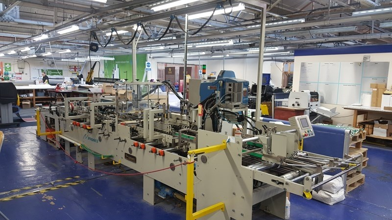 The latest machine from Folding Carton Gluers