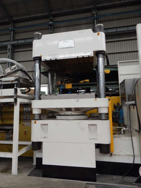 The latest machine from Hydraulic Presses