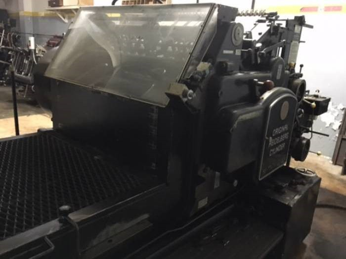 The latest machine from Label Presses