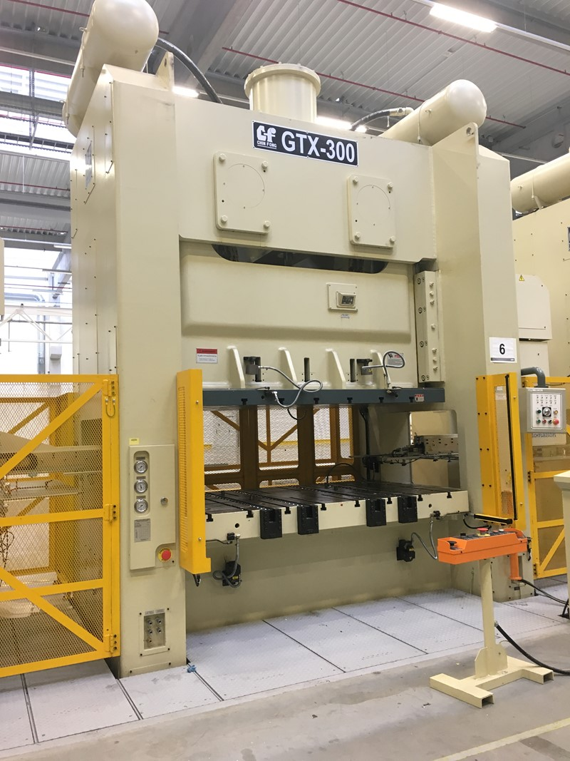Press Mechanical Double Sided Chin Fong Gtx300 For Sale