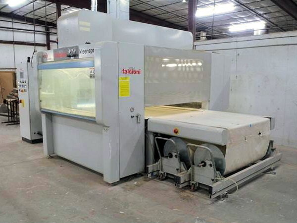 Finishing Cefla Falcioni Kleenspray 12 For Sale