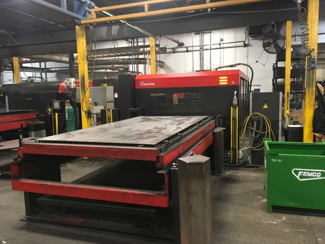 Laser Flat Bed Amada Fo Mii Ri 3015 For Sale