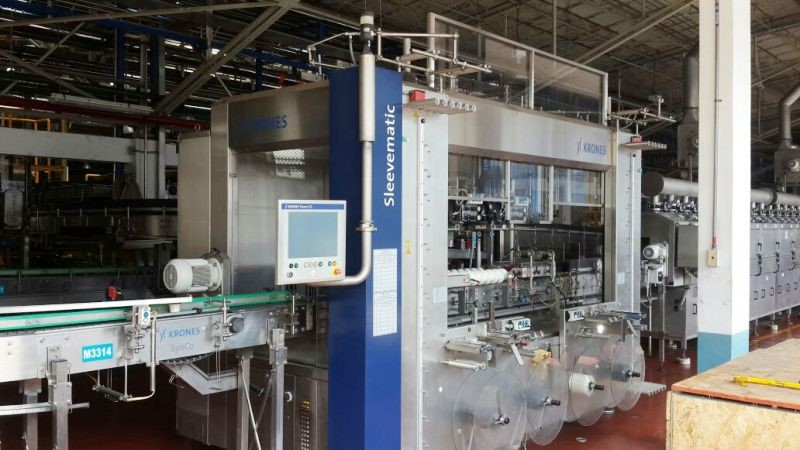 Automatic Sleeving Machine - Krones Sleevematic M 2
