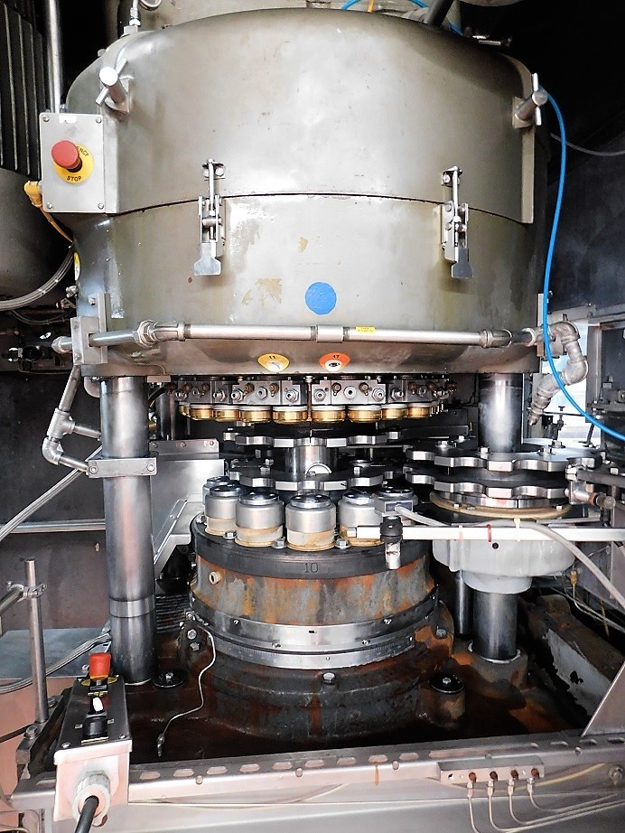 Fillers Can Filler Seamer 63 000 Cph Krones Vc125 90 And