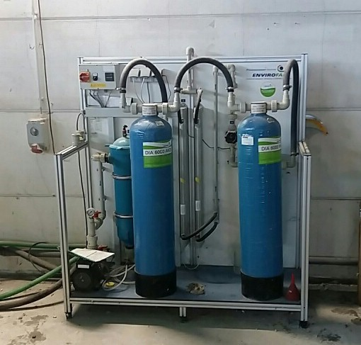 The latest machine from Water Treatment