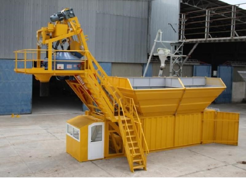 The latest machine from Batching Plants