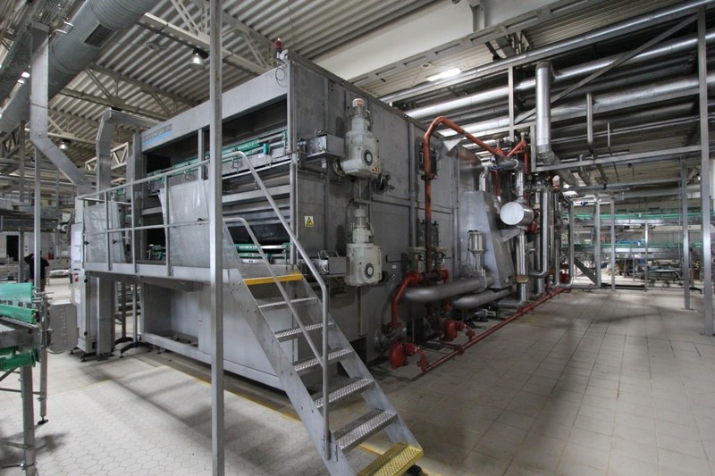 Tunnel Pasteurizer 40.000 can/h - Krones K570-131