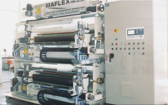MAFLEX - in-line 4 colors 2600 mm.