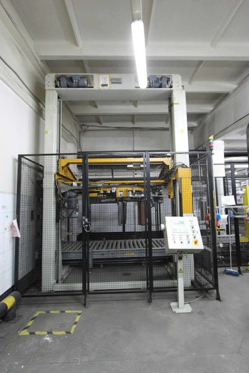used pallet wrapping machine for sale