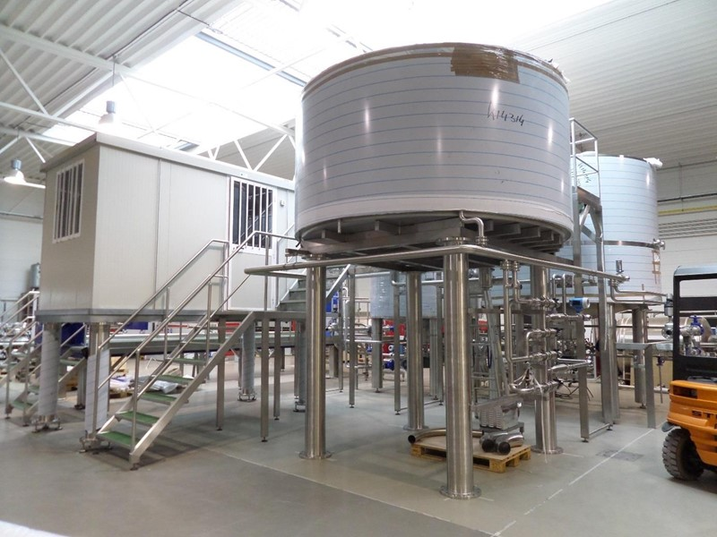 Complete Brew House 100 hl, brand new - 100.000 hl annual