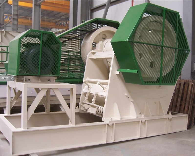 CONSTMACH - 250 tph – 1100 x 850 mm JAW CRUSHER – READY AT STOCK !