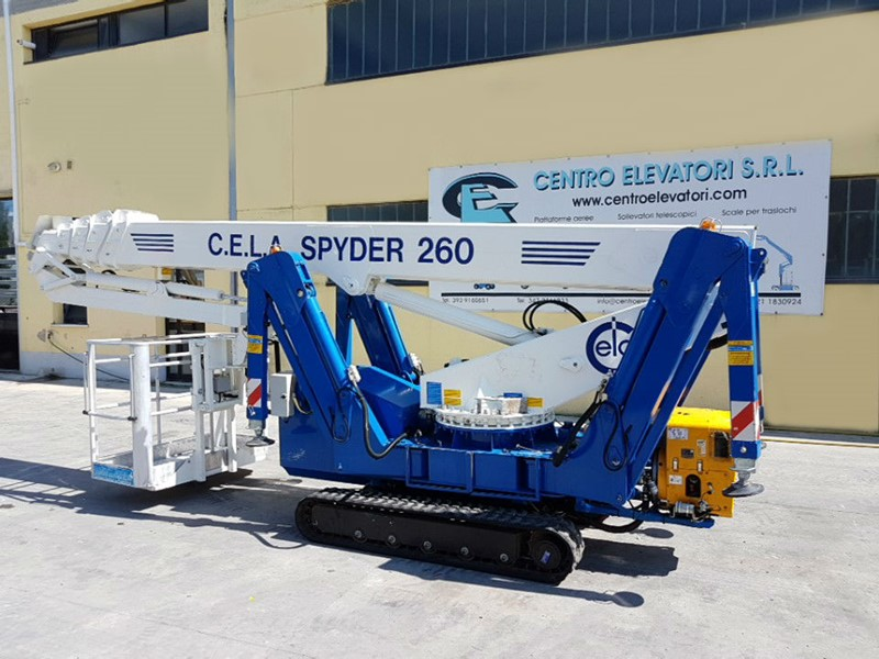 Trailer Mounted Cela Spyder 260 for sale - IndustrialMachines.net