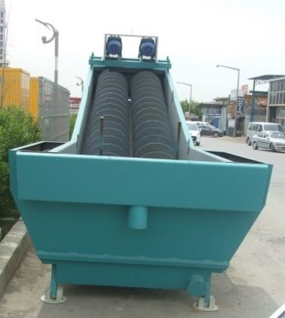 CONSTMACH - SAND WASHING PLANT - SCREW WASHER - 100 TPH