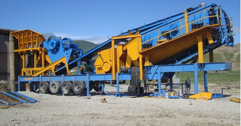 CONSTMACH - 100 tph - MOBILE CRUSHING PLANT - 2 YEARS WARRANTY