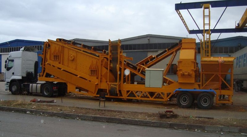 CONSTMACH - MOBILE SAND MAKING MACHINE - 150 tph