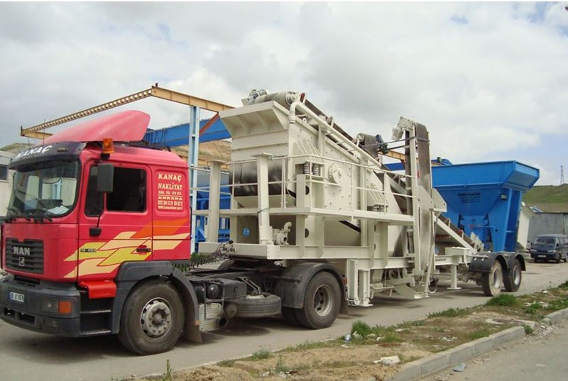 CONSTMACH - MOBILE SCREENING & WASHING PLANT FOR SALE