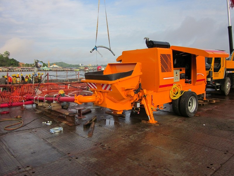 The latest machine from Concrete Mixer / Pump