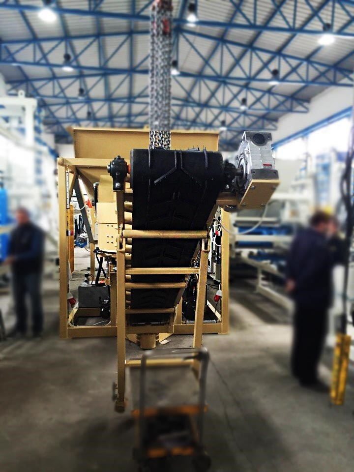 The latest machine from Asphalt Plant