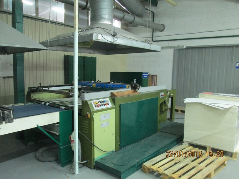 The latest machine from Screen Printing Equipment