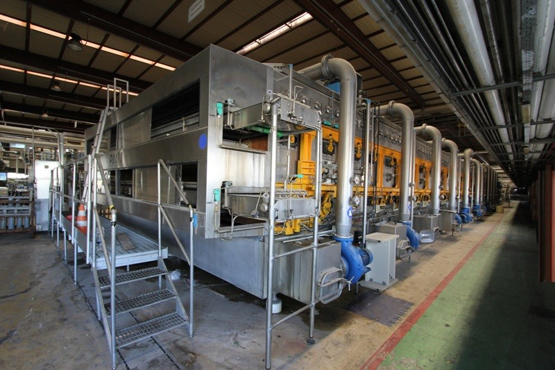 Tunnel Pasteurizer Double Deck - SASIB Pama 6512 DR 90.000 bph