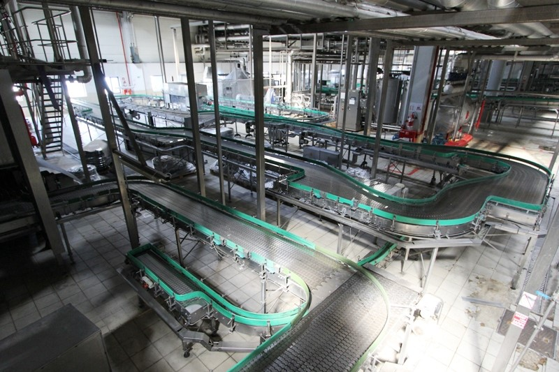 Glass Bottle Filling Line 50.000 bph - Krones, with Bottle Washing Machine