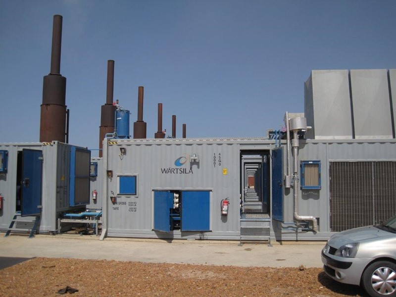 Diesel Power Plant 10.6 MW - Wartsila 7 x 9L20 Oilcube Modules