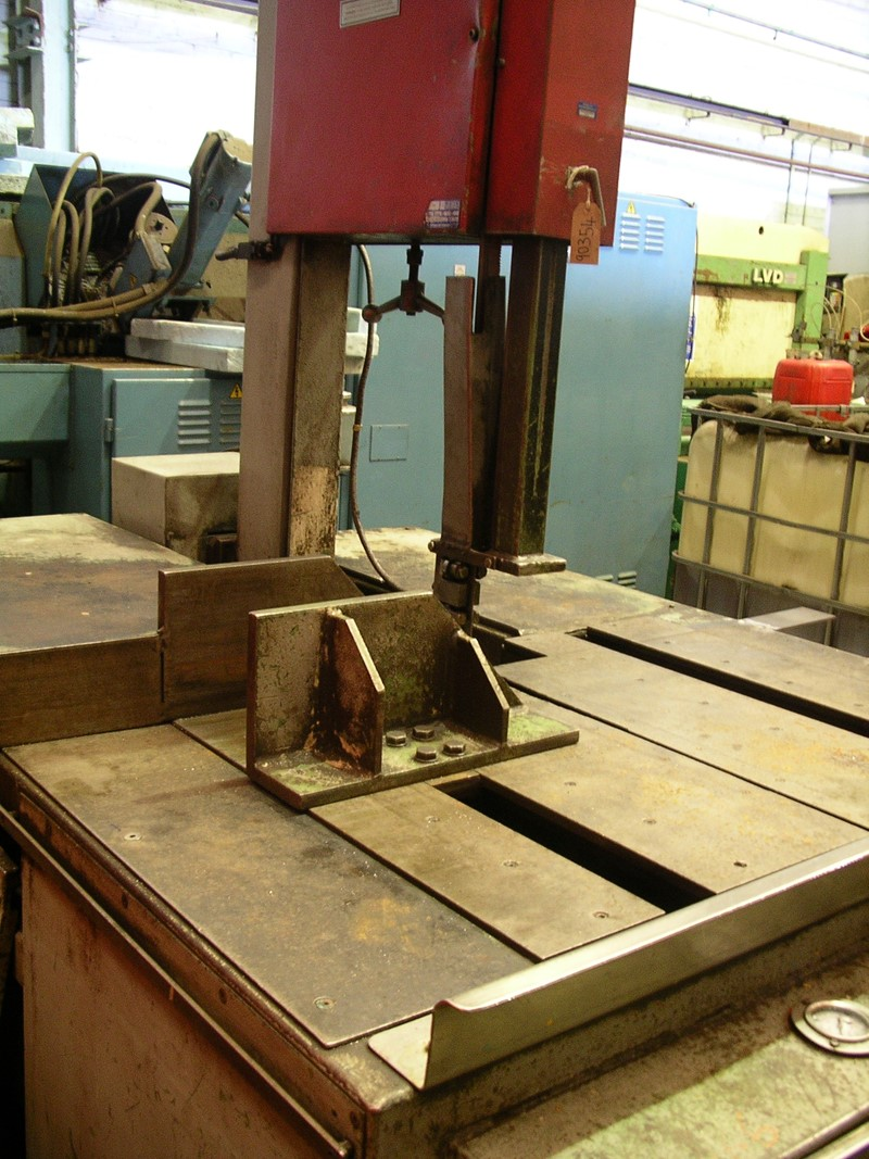 Saw Bandsaw Vertical Bauer Vg450 For Sale