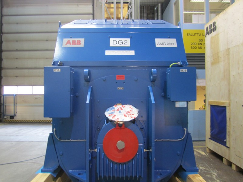 Alternator ABB 4 MW - NEW - AMG 0900SK10 LSE - 60 Hz