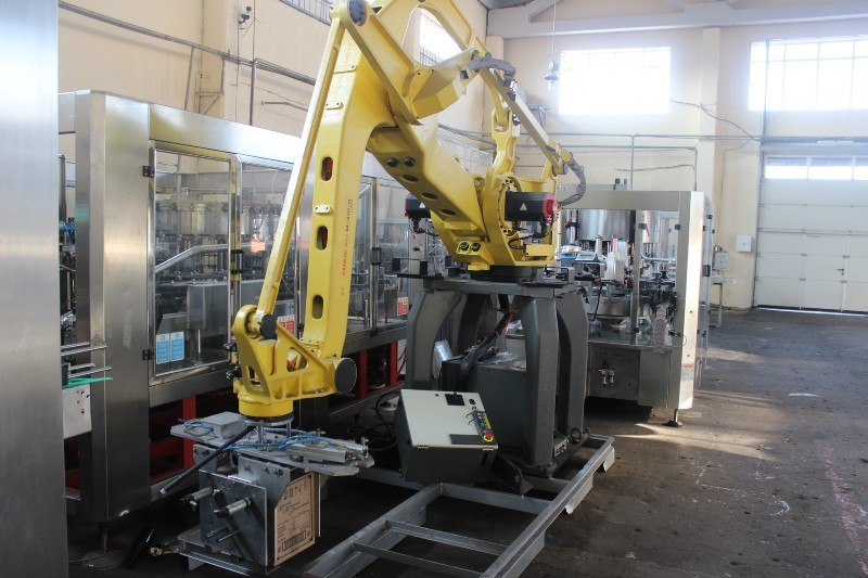 Palletizing Robot FANUC 410iB/300 - compact industrial 4-axis robot - never installed