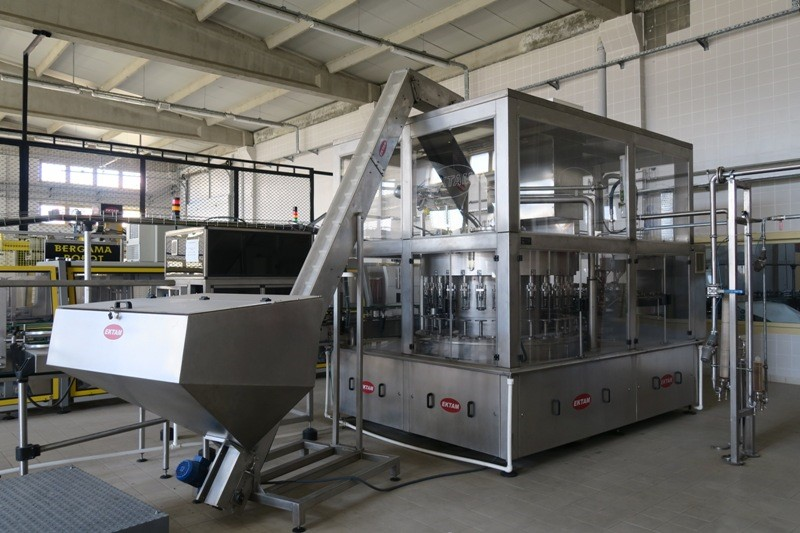 Glass Bottle Filling Line 7.000 bph - EKTAM 0.2 - 0.5 ltr one way glass bottles