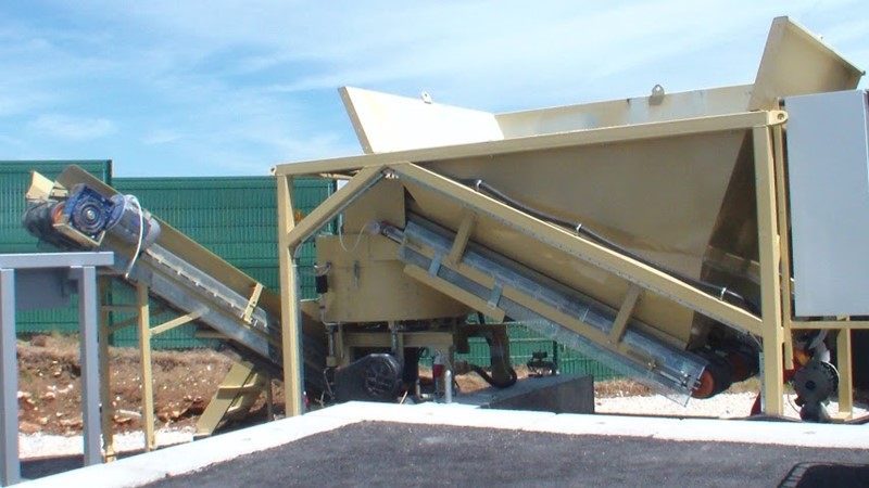 SUMAB Cold asphalt mixing plant  - ES-15- -Available in French!