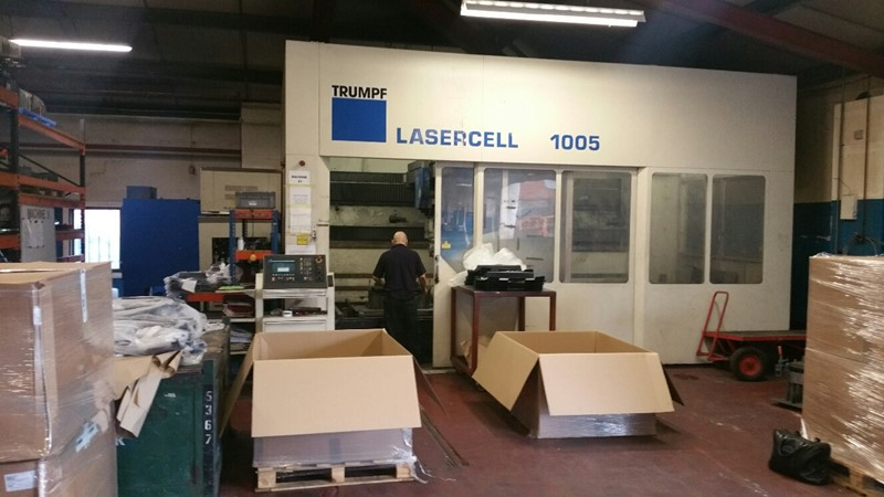 The latest machine from Laser - 5 Axis
