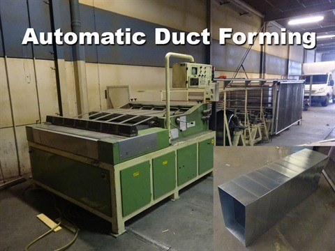 The latest machine from Ductforming Machine