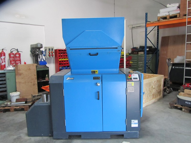 The latest machine from Plastic Recycling
