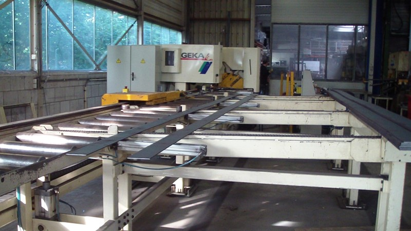 The latest machine from Structural Steel Processing