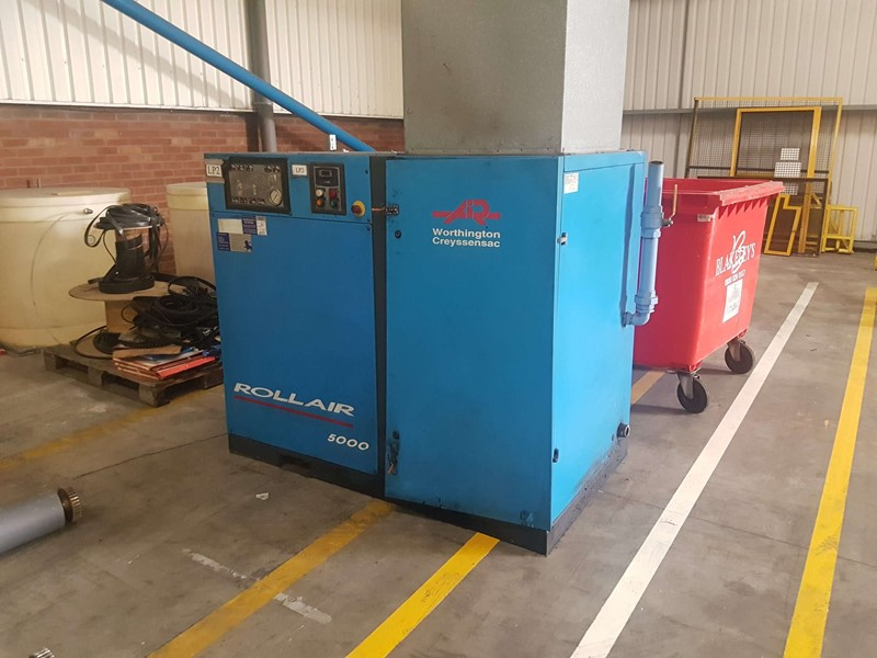 WORTHINGTON CREYSSENAC - Rollair 5000 Air Compressor