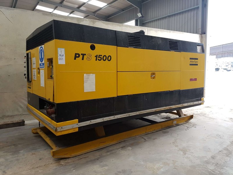 ATLAS COPCO - PTS1500 Diesel Powered Air Compressor